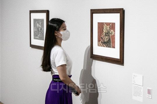 [포토] 이건희 컬렉션, 이중섭의 `황소`와 `흰 소`